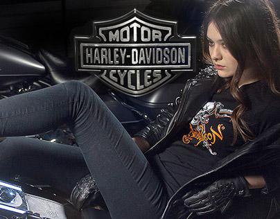 Harley-Davidson prints