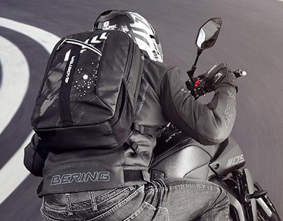 Backpack design for BAGSTER