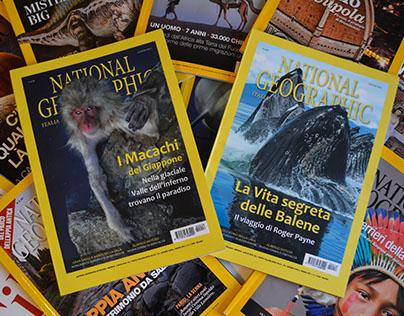 //Restyling National Geographic magazine