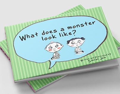 What does a monster look like? - A Children's Book