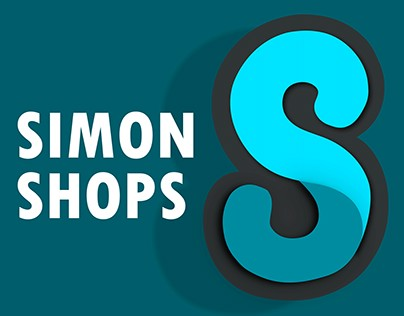 Simon Shops. Logo