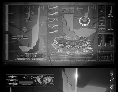 UI+CG BASED ON ART & CONCEPTS for The SpaceShips A_00