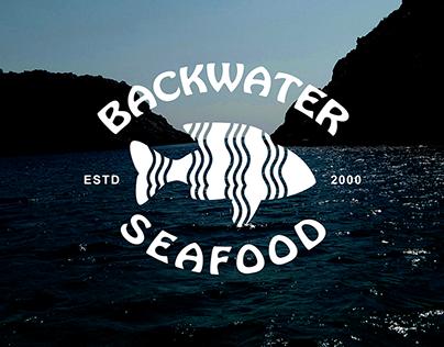 Vintage Logo Design for Sea Food