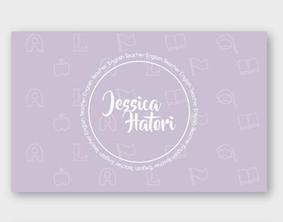 Cartão Visita - Jessica Hatori