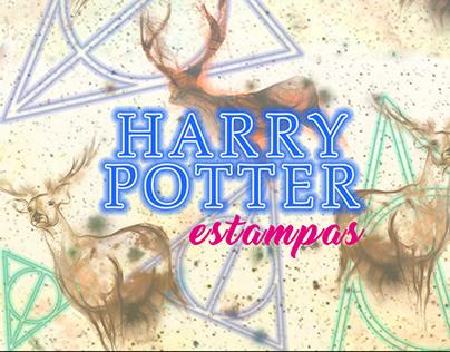 Coleção de Estampas Inspiradas no Universo HP