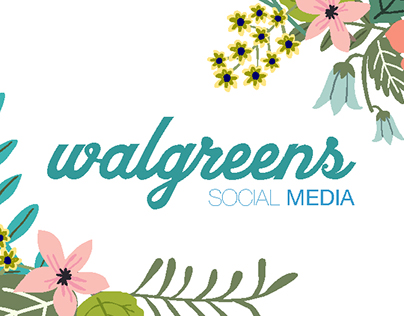 Walgreens USH Social Media Content Creation.