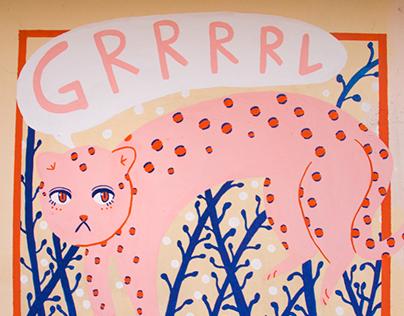 GRL PWR (Street Art)