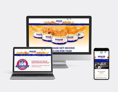 Broaster Express Website Design and Development