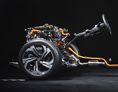HONDA ACCORD Chassis CGI