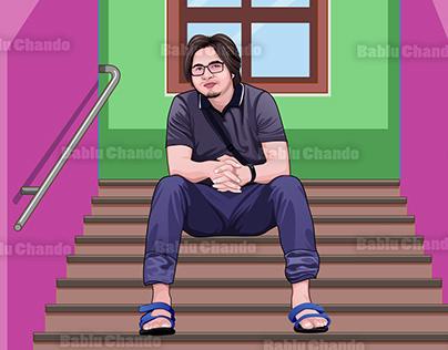 3 Cartoon or Vector portrait designs