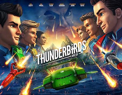 THUNDERBIRDS ARE GO Season 3B Key Art