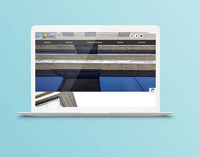FG&M construcciones - Desarrollo Web
