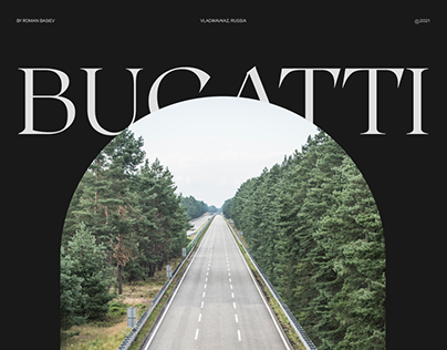 Bugatti — Website Redesign