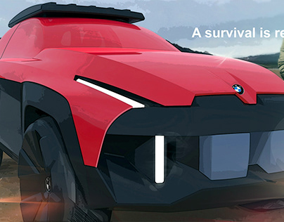 Experimental Project -BMW X-Flood Concept.