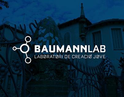 BaumannLab - WireFrames Mockup