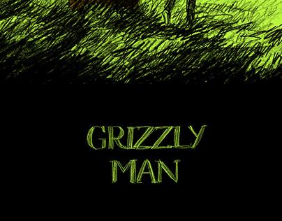Affiche illustrée du film Grizzly Man