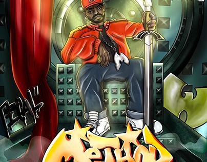 Wu-Tang Clan Method Man Judgment Day Illustration