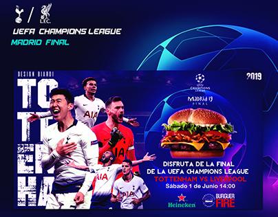 Champions League / Burguer Fire