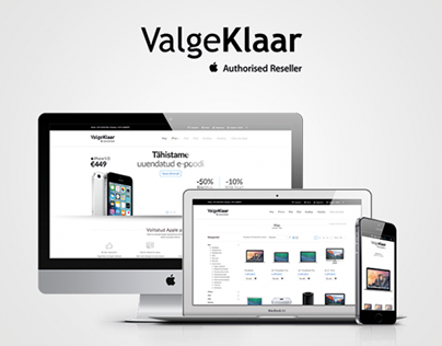 ValgeKlaar - E-Commerce UI / UX Design