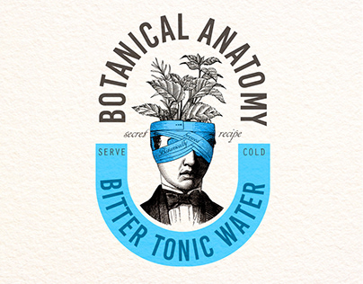 Packaging design - Tonic water - Botanical Anatomy