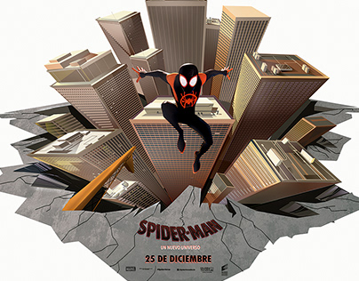 Official commission Spiderman Sony Pictures- Cineplanet