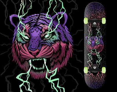 Tesla Tiger - Skateboard Deck