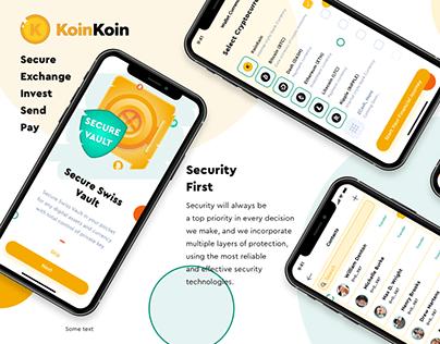 KoinKoin   Digital Assets Exchange & Social Commerce