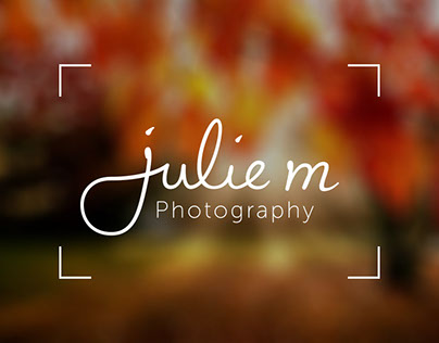 Julie M Photography - Logo Design