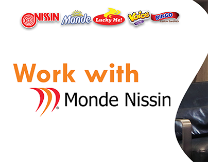 Monde Nissin Corporation LinkedIn banner designs