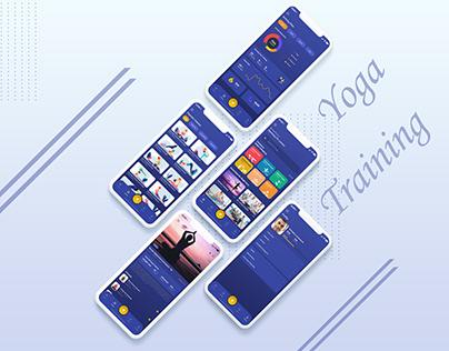 Yoga Training Ios Apps Ui/Ux Design
