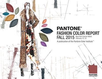 Fall 2015 Pantone Fashion Color Report