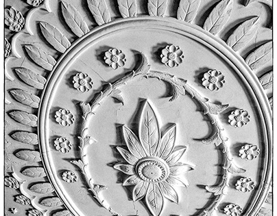 Historical Detail: Great Hall Ceiling Medallion