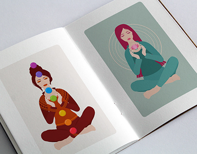Character illustration - YOGA