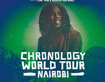 CHRONIXX TOUR POSTER - TUBORG KENYA