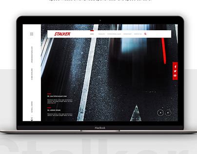 Stalker Radar | Webdesign