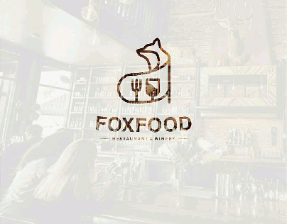 Fox Food Logo Concept
