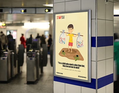 Child Labor Campaign Posters