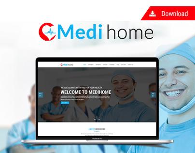 Download-Medihome PSD Template