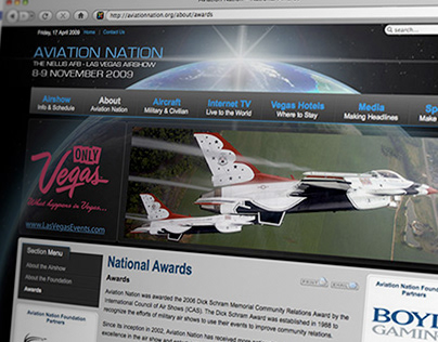 Aviation Nation Foundation Website