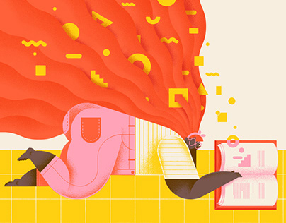 Editorial illustration for Wix blog