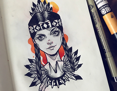 Sketch Collection / Tattoo designs