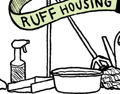 thank you cards for Ruff Housing