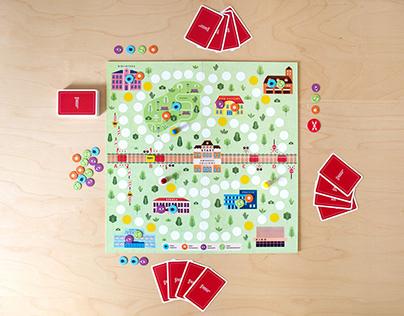 Safe Railroad Level Crossing — Board Game