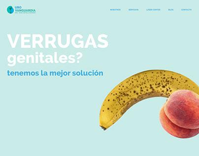 UROVANGUARDIA / Web design