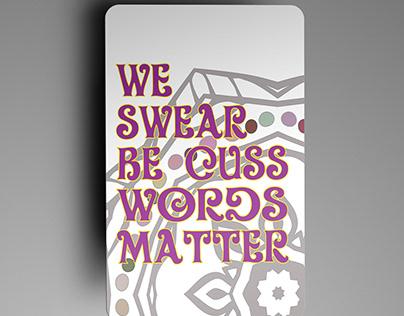 Words Matter Card deck