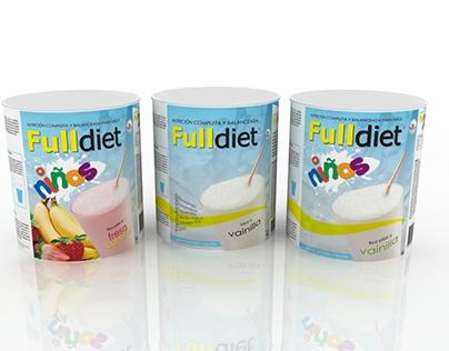 FULL DIET - PACKAGING