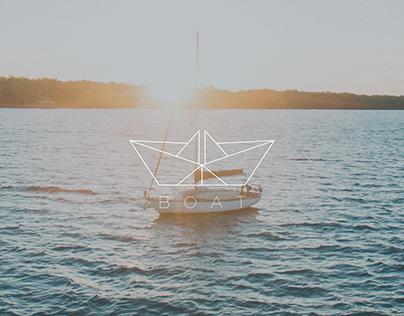 Origami Boat - Logo Concept