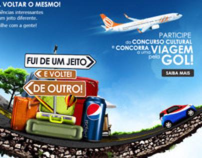 PEPSI . Proposta Concurso Cultural Pepsi+Gol