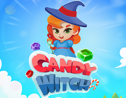 Game UI for Candy Witch