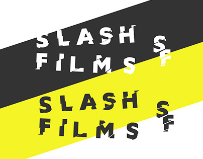 Logocore Challenge: SLASH FILMS